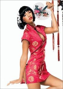 Fredericks of Hollywood Geisha Costume