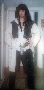 Homemade Capt Sparrow