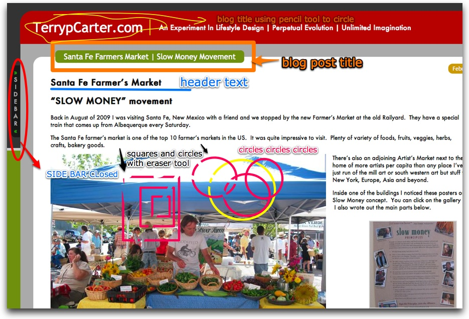 Santa Fe Farmers Market | Slow Money Movement | TerrypCarter.com